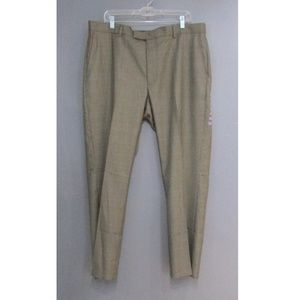 NEW Perry Ellis Portfolio Travel Luxe Pants Brown
